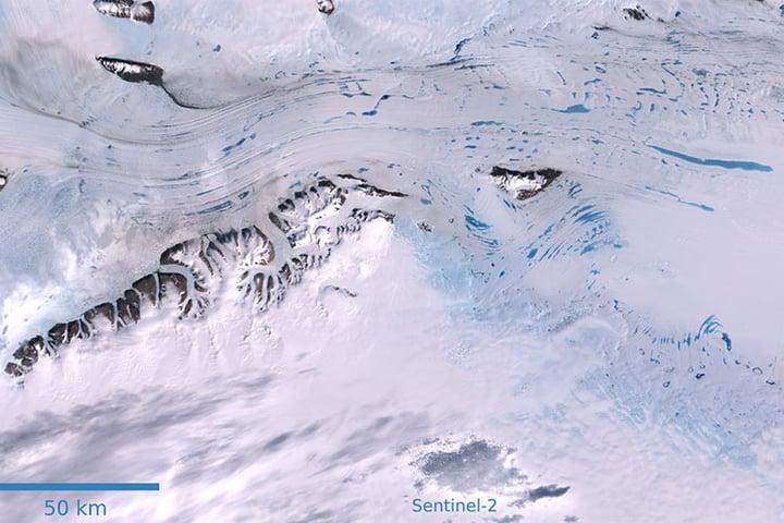 GEO-GEE project: Ice Shelf Monitoring in Antarctica