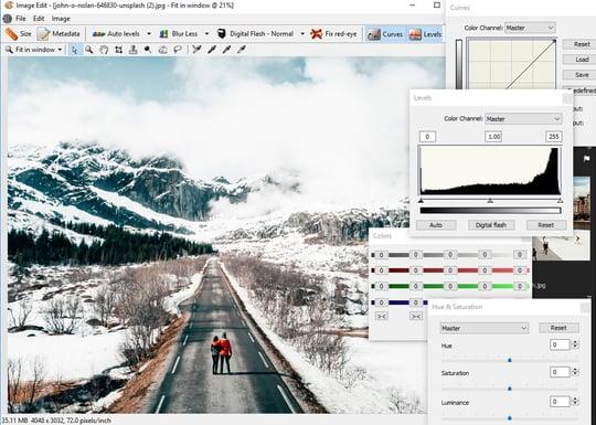 FotoStation Client Image Editor
