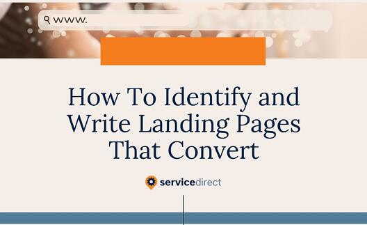 How To Identify And Write Service-Specific Landing Pages That Convert