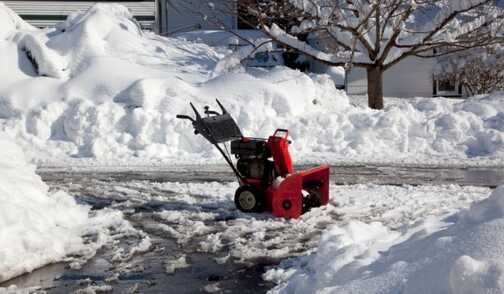 When the blades of the snowplow machine are set too low, it can scrape, scratch, and tear the top layer of an asphalt driveway, leaving it more susceptible to external factors like water and debris.