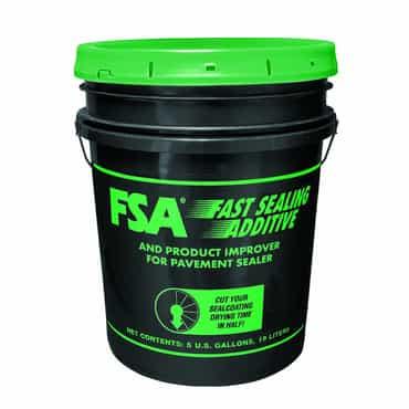 FSA sealer additive allows easier spray coating.