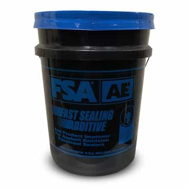 FSA AE Sealer Additive is best suited for asphalt emulsions.