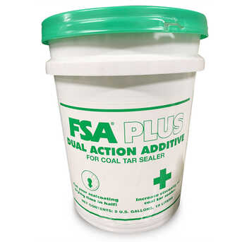 With the FSA Plus Sealer Additive, you can get a solid sealcoating layer at faster drying times.