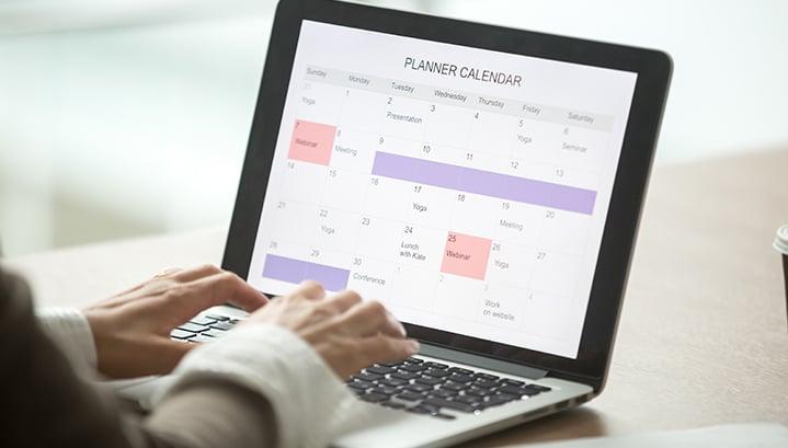 Un'agenda digitale per organizzare gli appuntamenti