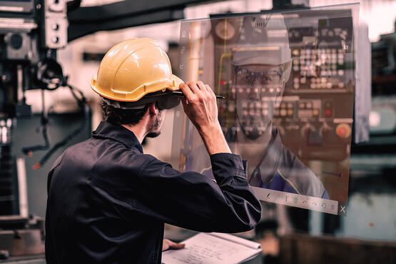 Building Connected Workforces with Augmented Reality Wearable Technology