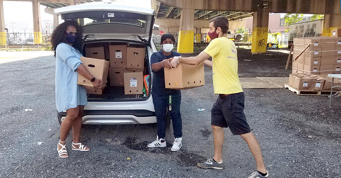 LogistiCare Partners with Liberty Resources to Deliver 75 Tons of Food to Disabled Philadelphia Residents In Need