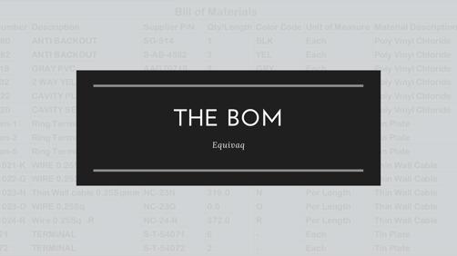 solidworks bom, bill of materials, solidworks bill of materials