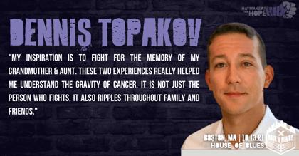 Dennis Topakov - Rock 'N Rumble X - Haymakers for Hope