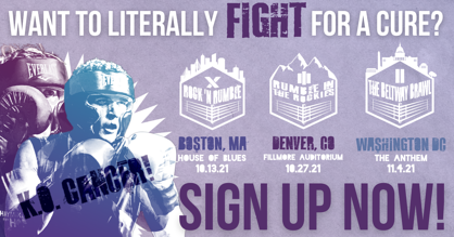 Charity Boxing Event Sign Up   Haymakers for Hope