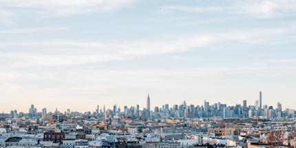 New York City skyline buildings