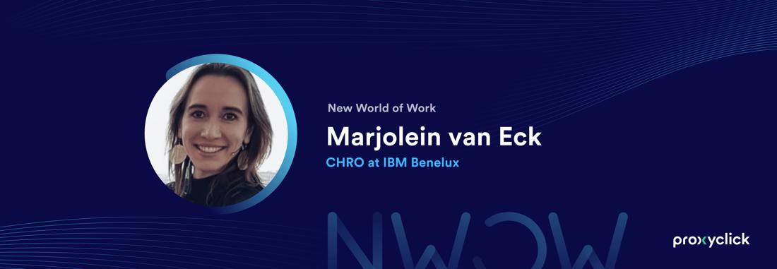 Proxyclick New World of Work Marjolein van Eck