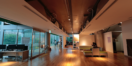people inside office building