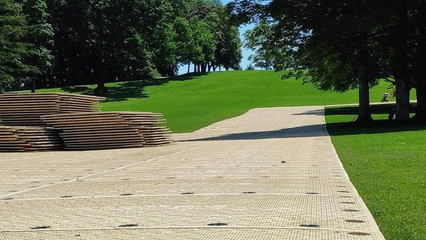 signaroad temporary roadway mat
