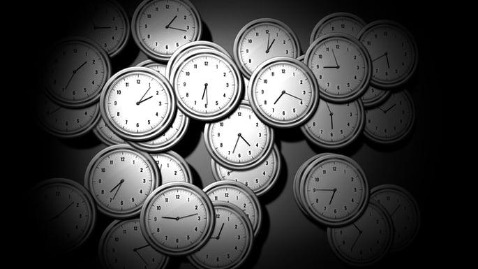 multiple analog clocks
