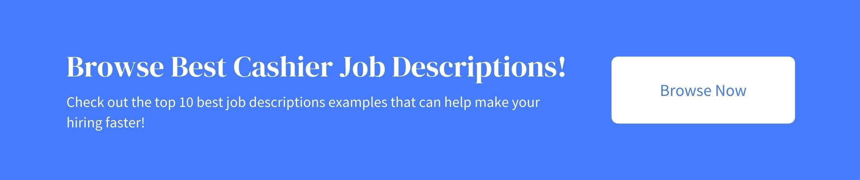 Link to top 10 templates for cashier job description