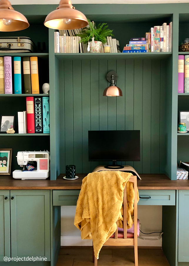 which colour to paint your home office