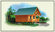 log home plans cabin garages