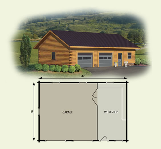 cabin garage plans 5000 house plans