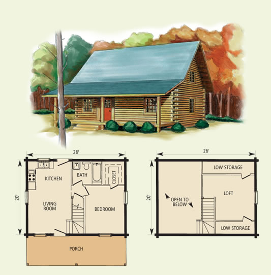 Wood Work Free Log Cabin Plans With Loft Pdf Plans