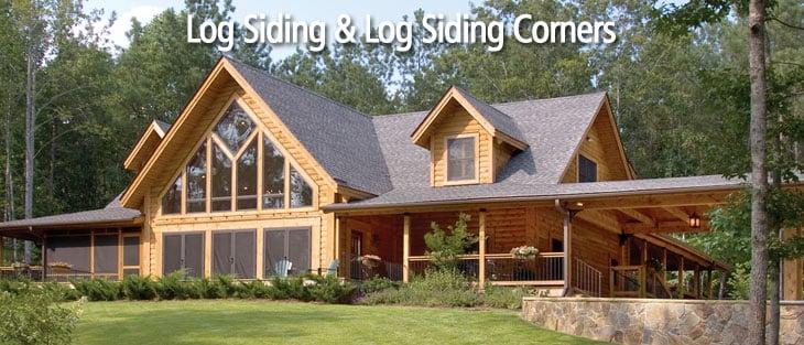 Log Home And Cabin Siding And Corners