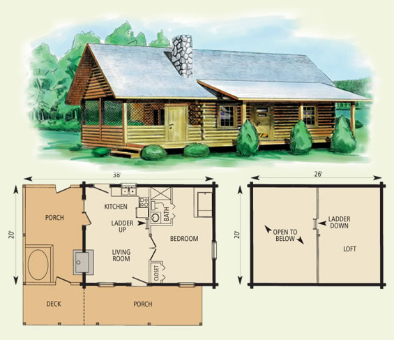 12 x 20 cabin floor plans images homedesignpictures Small cabin blueprints free