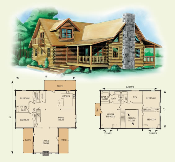 10 x 20 wood cabin plans homedesignpictures for 10 x 20 cabin plans