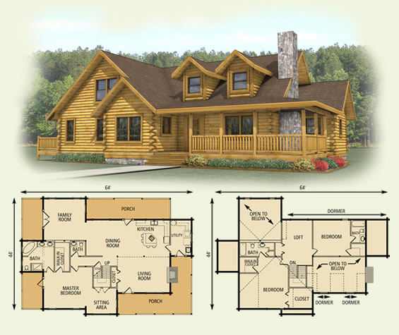 16x20 cabin plans ksheda for 2 story log cabin plans