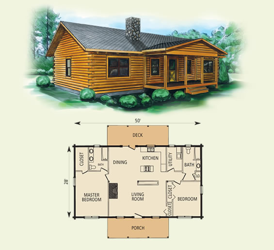 Small remote cabin floor plan joy studio design gallery for 1 bedroom log cabin floor plans