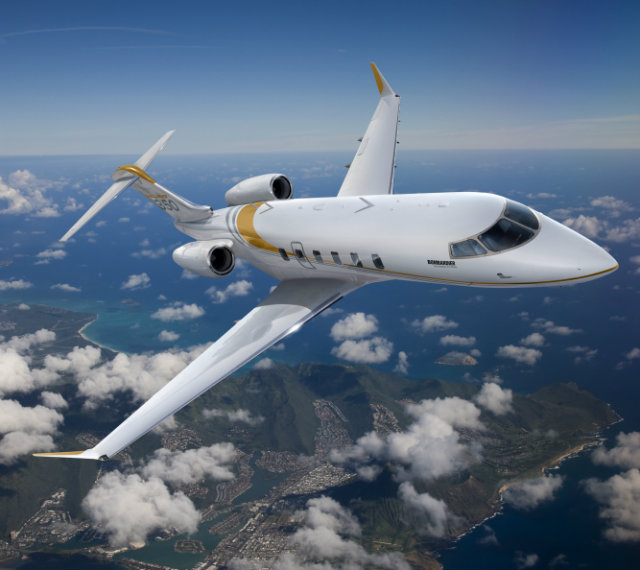bombardier challenger 350 private jet