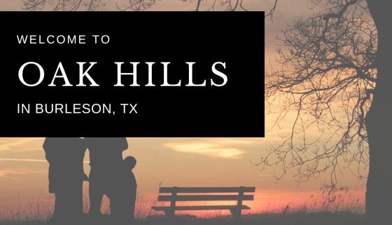 NEW COMMUNITY: Oak Hills in Burleson, TX