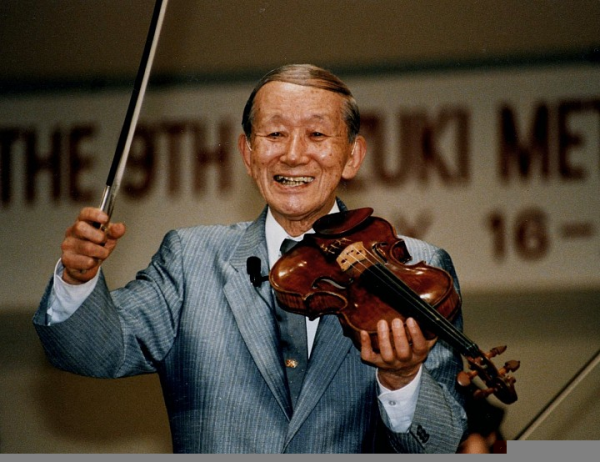 Shinichi Suzuki – The Man and the Violin Method