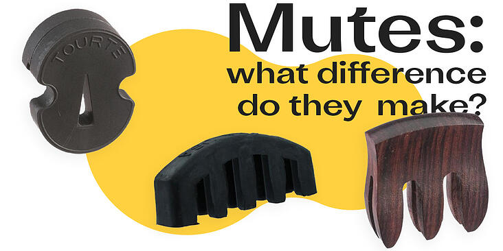 Mutes: what difference do they make?
