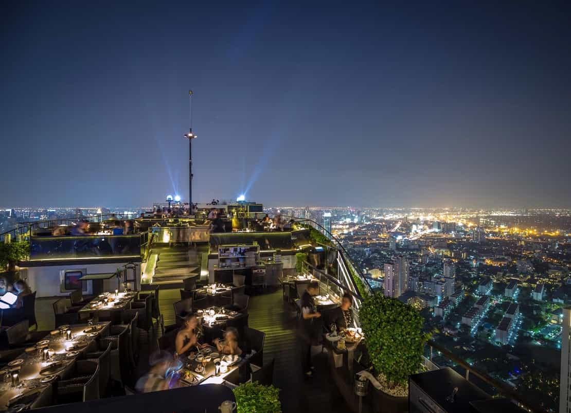 Bangkok Sky Night skybar - 3