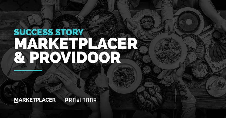 Marketplacer and Providoor