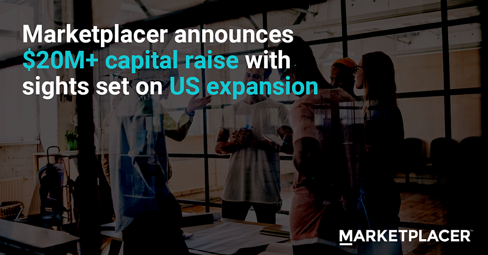 Marketplacer raise $20M+ capital with sights set on US expansion