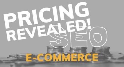 E-commerce SEO Pricing Revealed