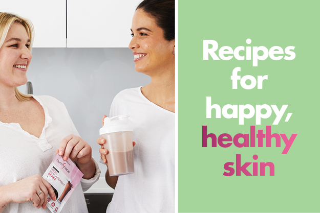Recipes for happy, healthy skin