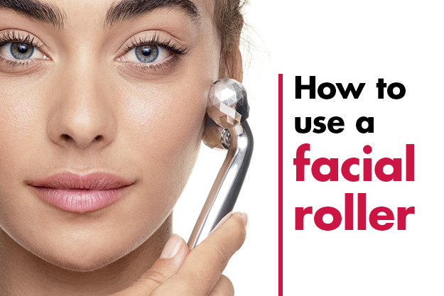 How to use a facial roller?