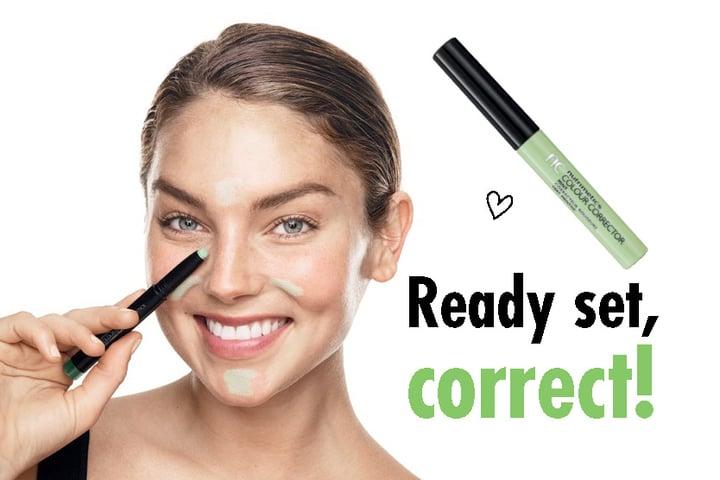 How to use a green colour corrector