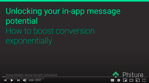 Boost Conversions with In-App Messaging