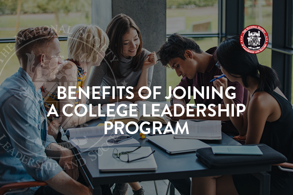 Benefits of Joining a College Leadership Program