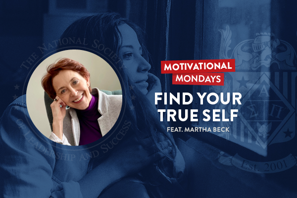 How to find your true self with Martha Beck