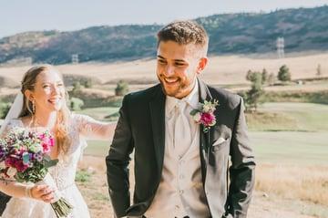 Emma & Austin Esparza's 'First Look' at Ken Carly Vista by Wedgewood Weddings