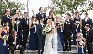 Groomsmen wearing Friar Tux suits at Galway Downs by Wedgewood Weddings