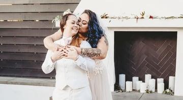 Same-Sex Friendly Wedding Outfit Ideas