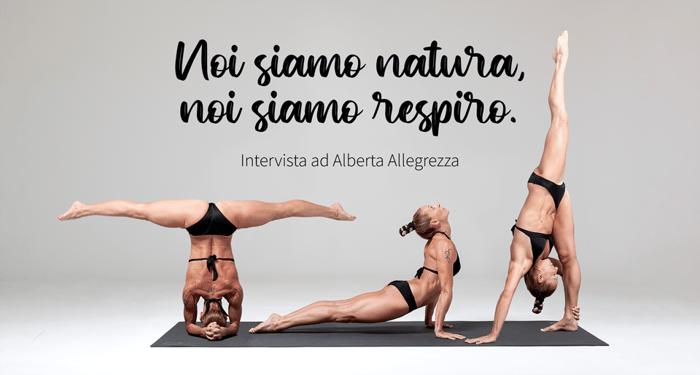 Yoga Teacher Alberta Allegrezza