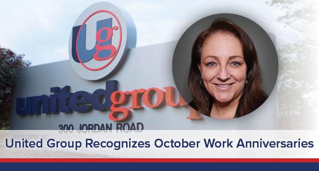UGOC Spotlight: United Group Recognizes October Work Anniversaries