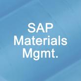 SAP Materials Management Overview