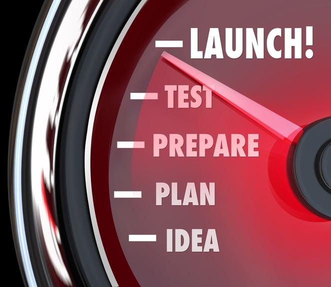 Launch Word Speedometer Test
