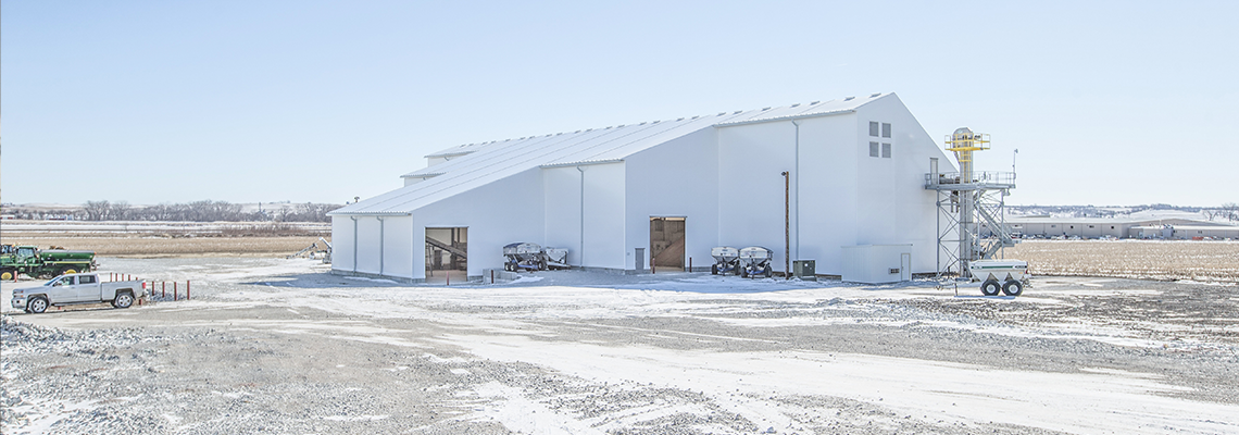 custom bulk storage building